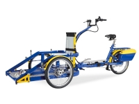 Wheelchair tandem Camel Trail bike hire
