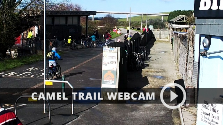 View the Camel Trail live with our real time web cam