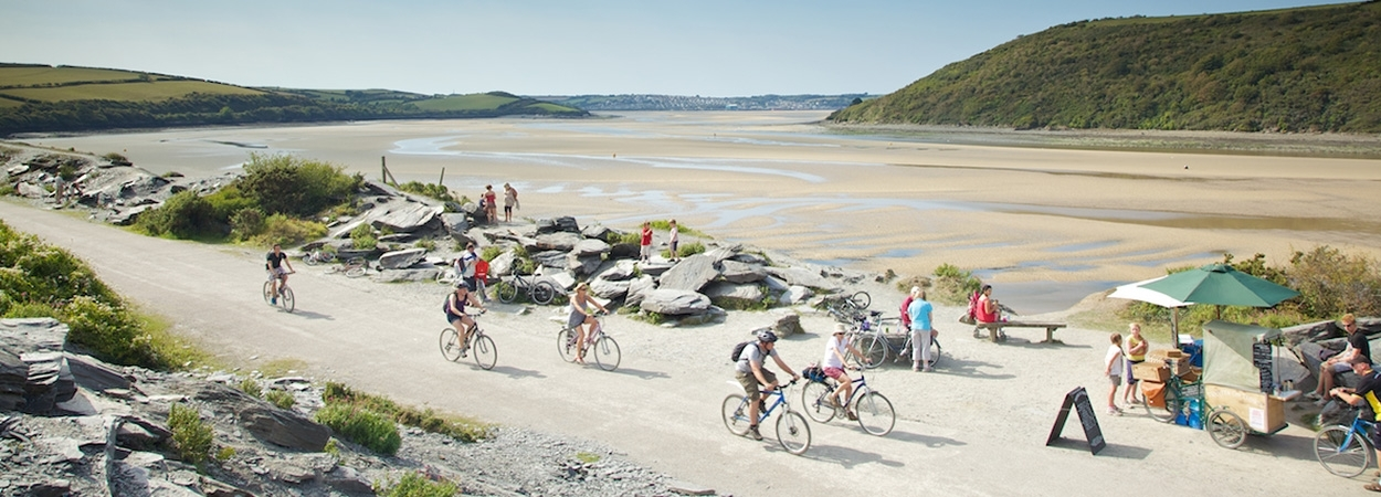 Ride the Camel Trail with Bridge Bike Hire