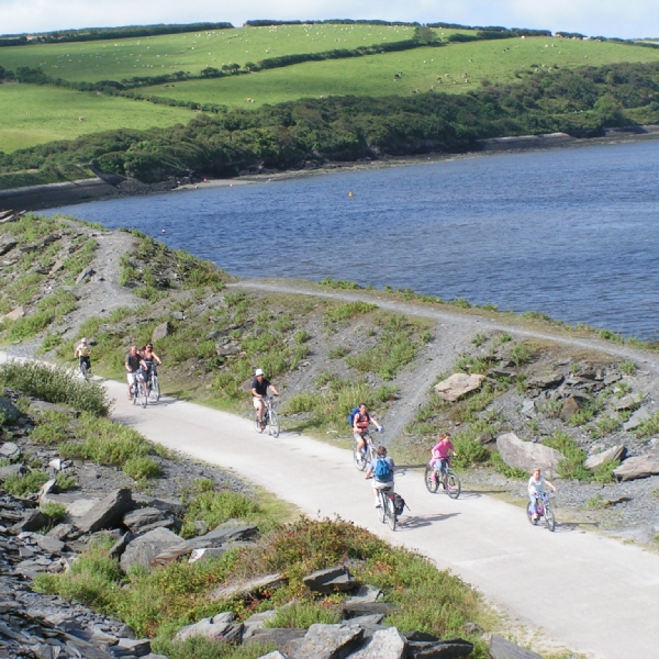 Camel Trail Quarry wadebridge cycle hire from Bridge Bike Hire