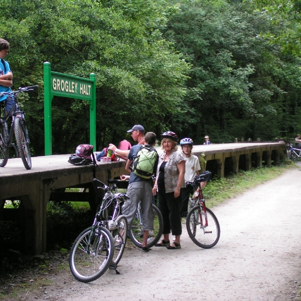 Camel trail bike hire from bridge bike hire spring rides